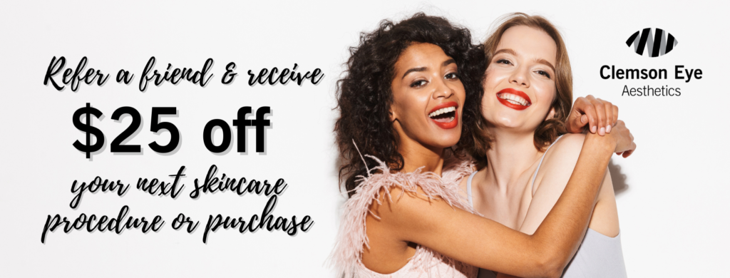 Refer a Friend & Receive $25 off Your Next Procedure or Purchase
