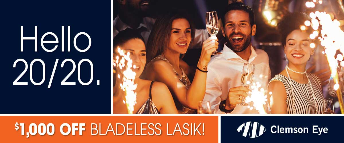 Hello 2020, $1000 off on Bladeless LASIK