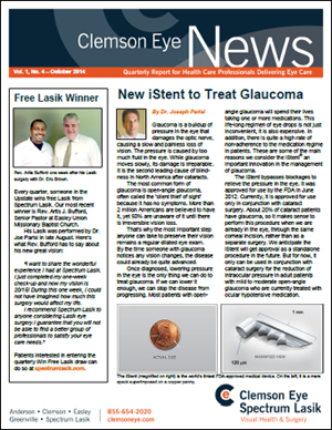 New iStent to Treat Glaucoma