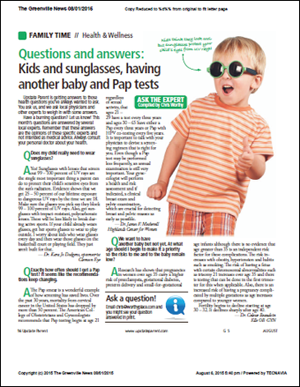 Ask the Expert: Kids and Sunglasses