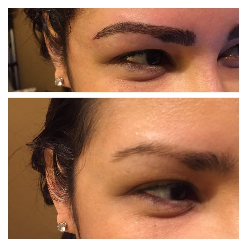 Microblading Final Result
