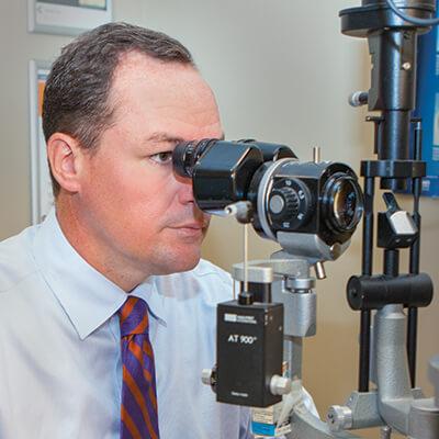 Eye Doctor in Eye Exam