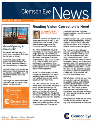 Reading Vision Correction Is Here!